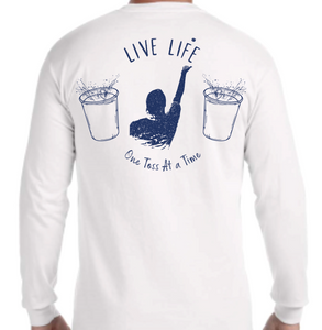 Beer Die Long Sleeve Pocket Tee