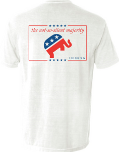 Silent Majority Pocket Tee
