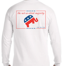Silent Majority Long Sleeve Pocket Tee