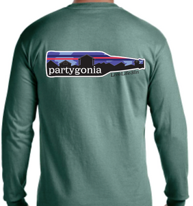 Partygonia Long Sleeve Pocket Tee