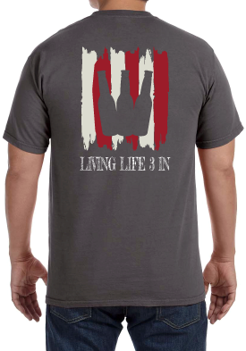 LiveLife3In Comfort Colors 'Merica 2.0
