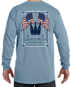 LiveLife3In Comfort Colors 'Merica Edition