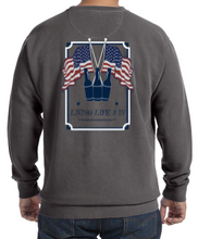 Comfort Colors 'Merica Fleece Crewneck Sweatshirt