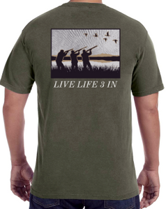 LiveLife3In Comfort Colors Duck Hunter Edition