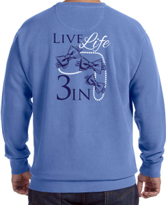 Comfort Colors Girls&Pearls Fleece Crewneck Sweatshirt