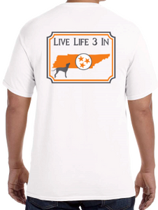Vols3In Comfort Colors Short-Sleeve
