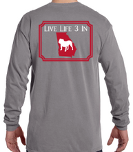 Dawgs3In Comfort Colors Long Sleeve