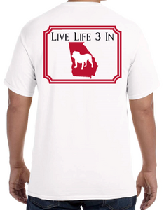 Dawgs3In Comfort Colors Short Sleeve