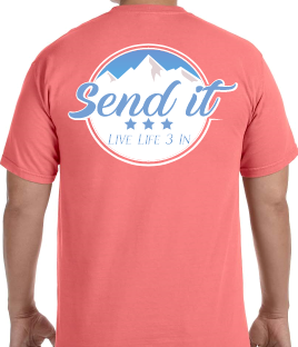 Send It Short Sleeve Comfort Colors