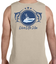 Hooked Comfort Colors Tank