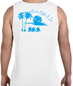 Beachin' 2.0 Comfort Colors Tank