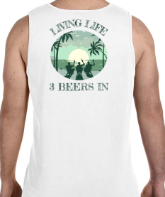 Beachin'  Comfort Colors Tank