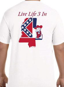 Rebs3In Comfort Colors Short Sleeve