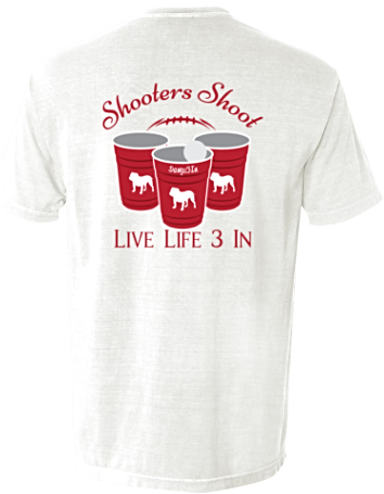 Dawgs3In Shooters Shoot Pocket Tee