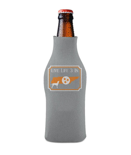 Vols3In Koozie Bottle Sleeve