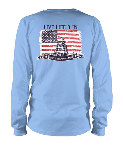 Don't Tread On Me Long Sleeve
