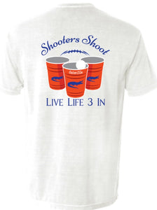 Gators3In Shooters Shoot Pocket Tee