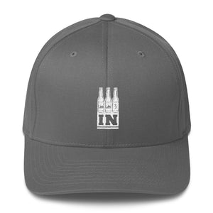Live Life 3 In Fitted Hat