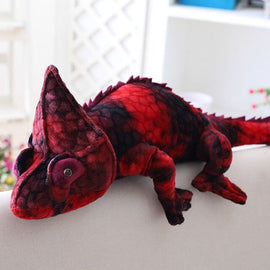 Red Phase Chameleon Stuffed Animal Friends