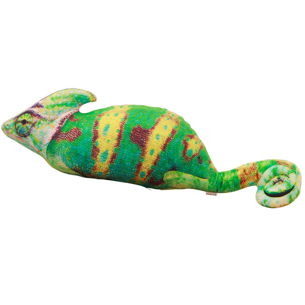 Medium Veiled Chameleon Pillow Stuffed Animal