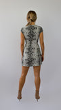 Serpent Print Dress