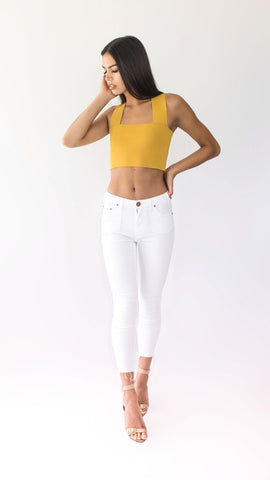 Mustard Crossback Crop