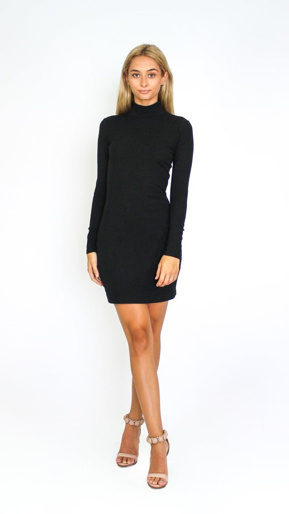 Full Sleeve Turtle Neck Midi