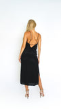 Sheer Backless Dress