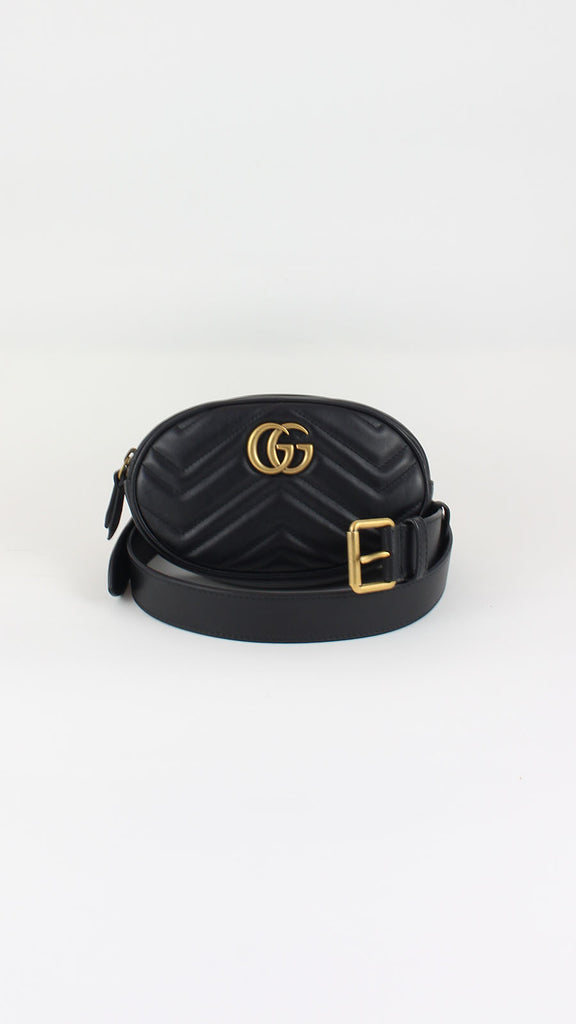 be2f306c410d GG Marmont Matelassé Leather Belt Bag | Gucci | MODA SOCIETY – Moda ...