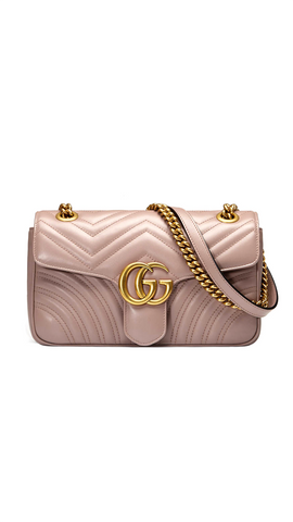 GG Marmont Matelasse Bag in Dusty Pink