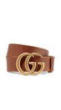 GG Belt in Brown Leather