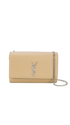 a0e3c1837a89 HIRE. SAINT LAURENT. Champagne Tassel Chain Bag.  110.00 AUD. Medium  Textured Kate Chain Bag