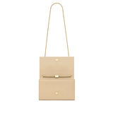Medium Kate Tassel Chain Bag in Nude