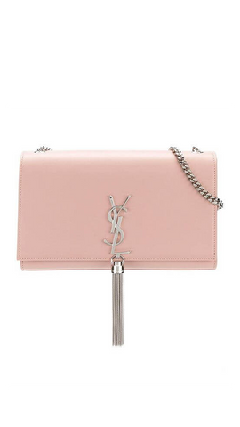 Medium Kate Tassel Chain Bag in Pink