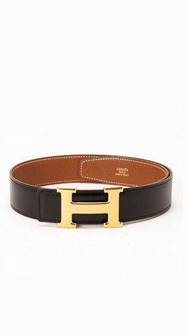 Constance Reversible Leather Belt