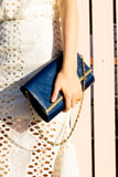 Ana Clutch in Grand Bleu