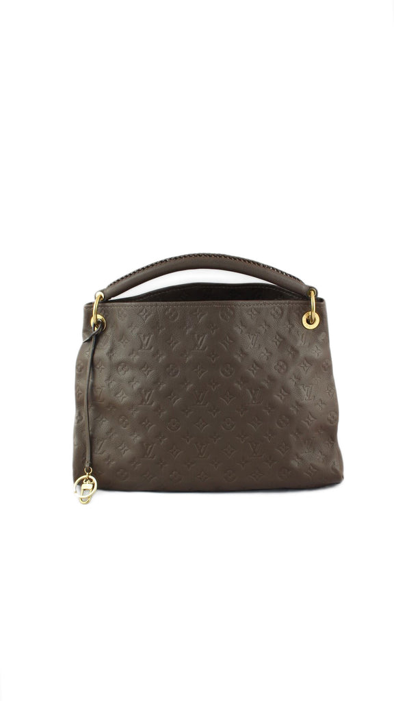 Artsy MM Empreinte Leather Handbag in Ombre