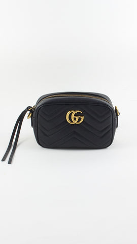 GG Marmont Matelassé Mini Shoulder Bag