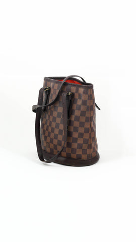 Marais Bucket Bag in Damier Ebene