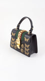 Sylvie Animal Studs Leather Mini Bag