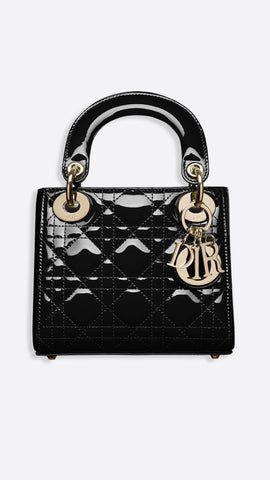Mini Lady Dior Calfskin Bag