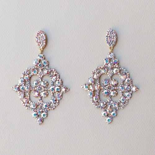 Dani Crystal AB Amanda Machado Earrings