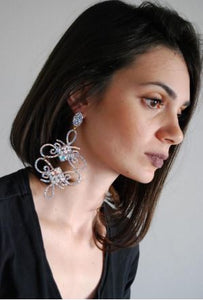Mih Statement Earrings - Rachel Rosh