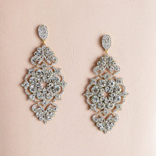 Lotus Statement Amanda Machado Earrings
