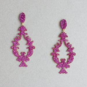 Chirley Statement Amanda Machado Earrings - Rachel Rosh
