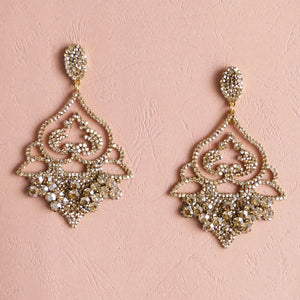 Lucy Statement Earrings - Rachel Rosh Malaysia