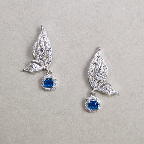 Ayla Butterfly CZ Earrings