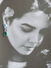 Load image into Gallery viewer, Ella Simulated Diamond Earrings