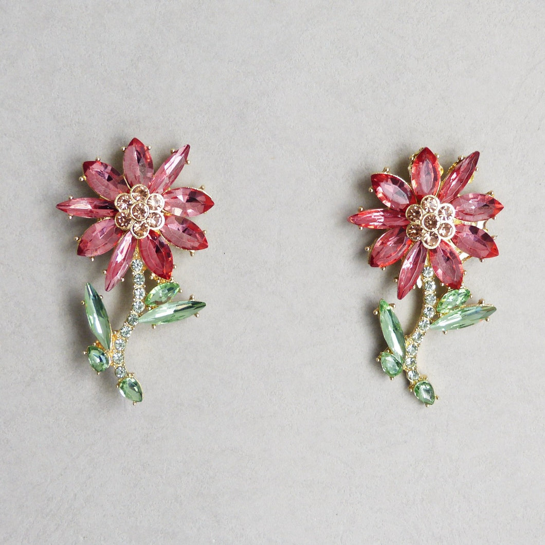 Ainsley Flower Earrings - Rachel Rosh Malaysia