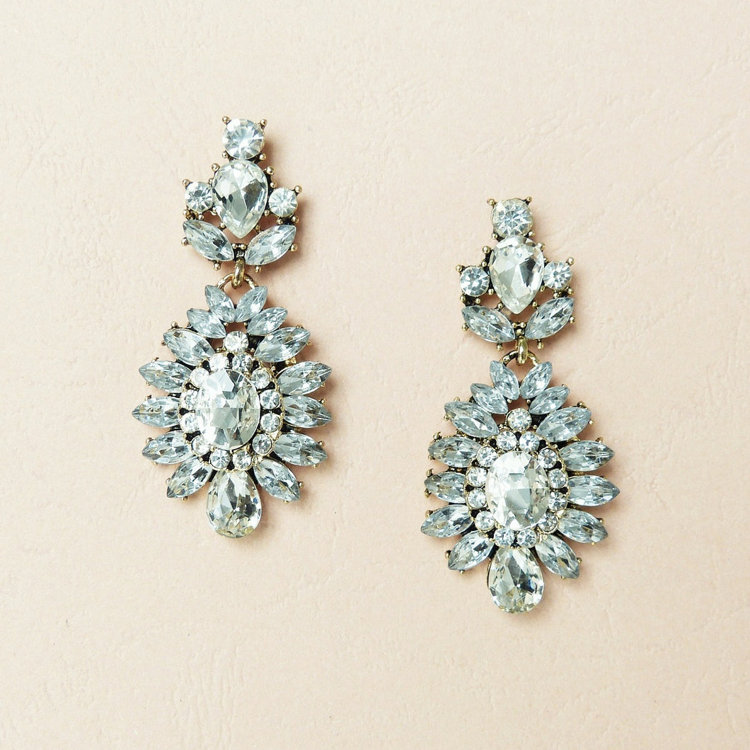 Savannah Statement Earrings - Rachel Rosh Malaysia